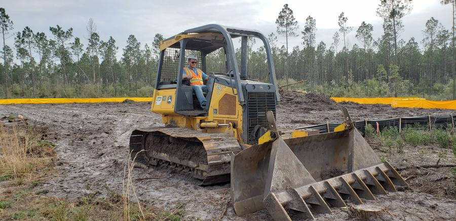 Florida Road Project Clears Coastal Forest   Construction