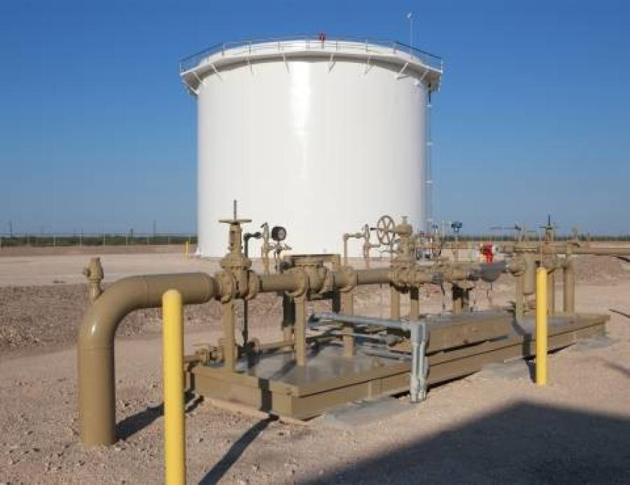 The proposed new origin and destination points will allow potential shippers from the Delaware basin to access downstream markets within Texas and the Texas Gulf Coast.  (Oryx Midstream Services photo)