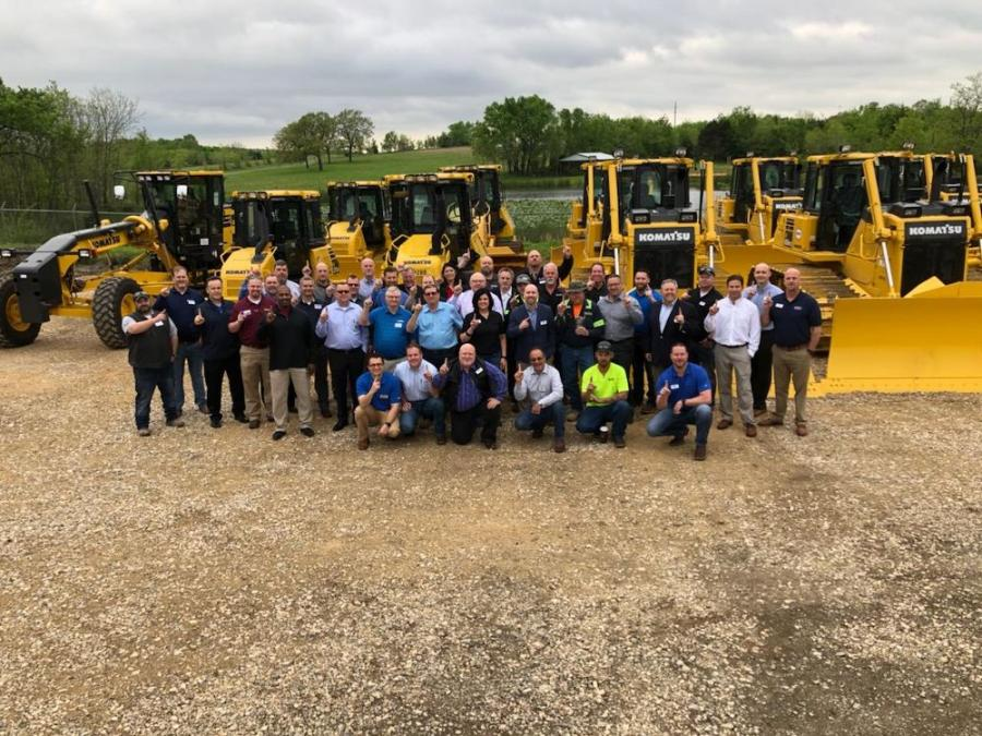 The Kirby-Smith Machinery Inc. (KSM) team celebrated the grand opening of its facility in McAlester, Okla., on April 21.