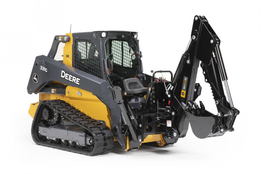 Each new backhoe model includes a 9 to 12 gallons-per-minute (34 to 45 liters-per-minute) hydraulic flow range for smooth operation. The new backhoes provide different levels of maximum dig depths ranging of 110 in. (279 cm) on the BH9B, 116 in. (294.6 cm) on the BH10B and 133 in. (337.8 cm) on the BH11B.