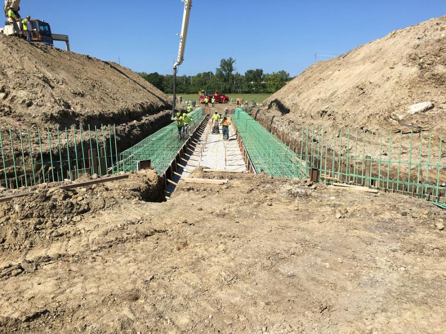 Two phases of the 11-phase Mill Creek Expressway renovation project are currently under way.
