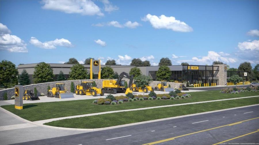 West Side Tractor Sales plans to build a $14 million, 75,000-sq.-ft. headquarters in Lisle, Ill., that will include a 13-bay service facility.