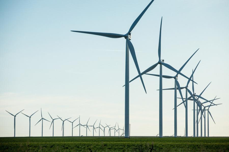 Vestas is providing wind turbines and maintenance services for the Tenaska Clear Creek energy project in Missouri. (Vestas photo)