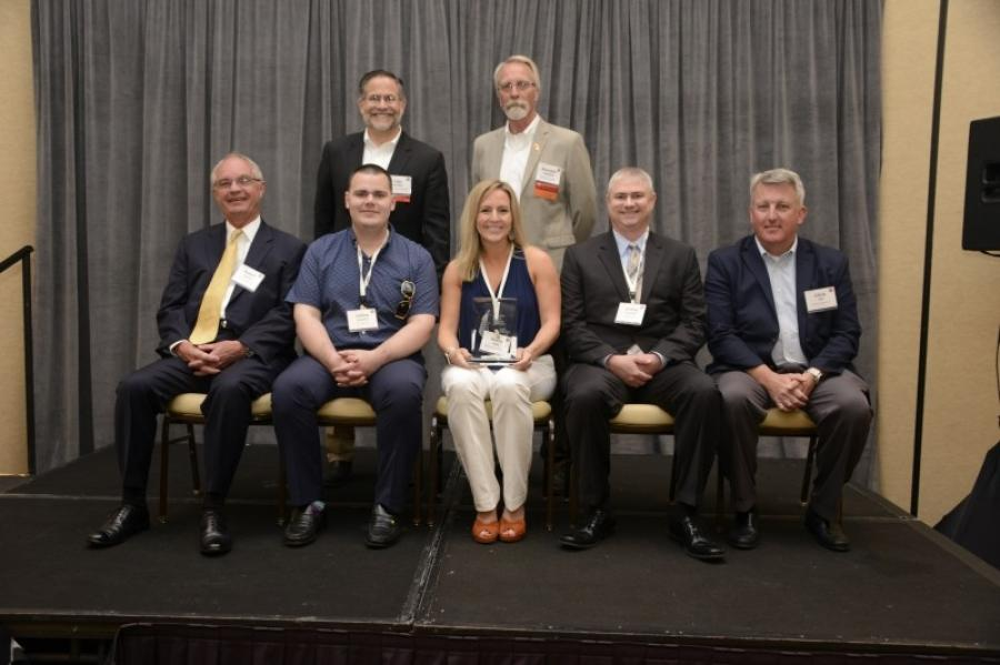 Crane & Rigging Zero Accidents Award winners