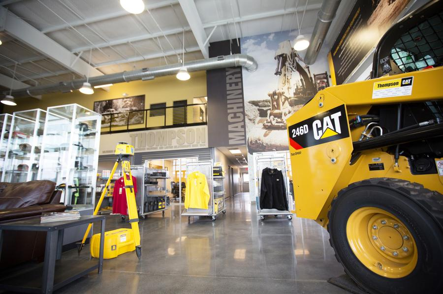 Thompson Machinery invests $4 to $5 million in each new branch store that it builds.