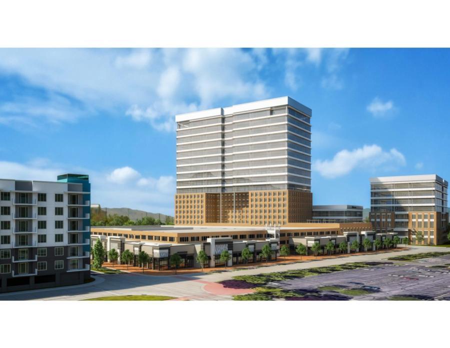 Sandy City OKs $500M Multi-Use Development Concept   Construction