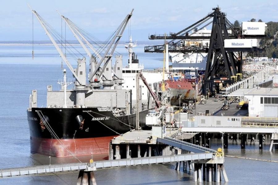 The cost estimates of a scaled-back port project have increased to nearly $2 billion. The project was expected to cost $350 million a decade ago. (Port of Alaska photo)