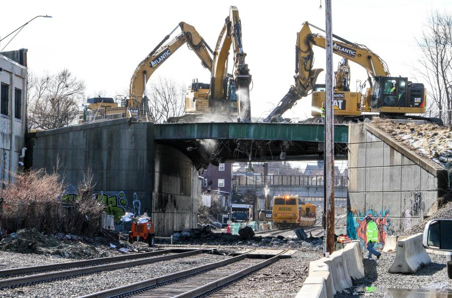 The Green Line Extension (GLX) project calls for six new Green Line stations along two branches, along with the relocation and reconstruction of Lechmere Station. (MassDOT photo)