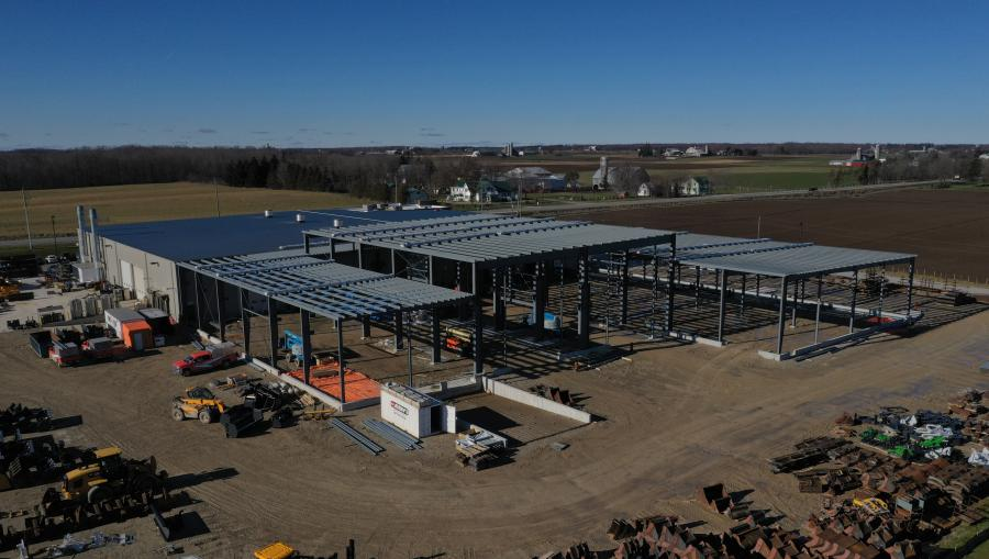 With a 42,500 sq. ft. building expansion nearing completion in May, AMI will significantly increase its production capacity to serve the North American market with attachments for heavy construction equipment.
