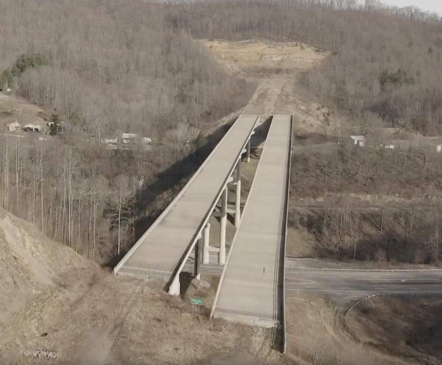 "The project will provide motorists easier access to the Mercer County Airport and finally utilize a bridge, which had become known locally as the ""Bridge to Nowhere"" over the years."