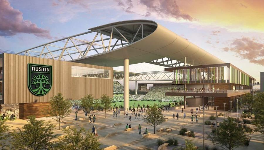 Precourt Sports Ventures LLC recently announced franchise, Austin FC, has selected Austin Commercial as its construction manager; Gensler as the lead architect; and CAA ICON as design partners for the planned 100 percent-privately financed 20,500-seat soccer park and stadium, which is set to break ground in mid-September at McKalla Place.