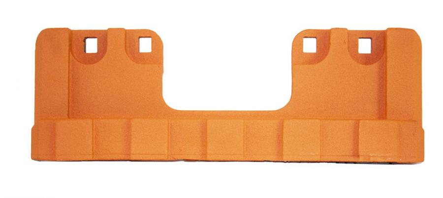 PlowGuard MAXX guards are available in three configurations, each in two sizes, 6- and 8-in. (15.2 and 20.3 cm).
