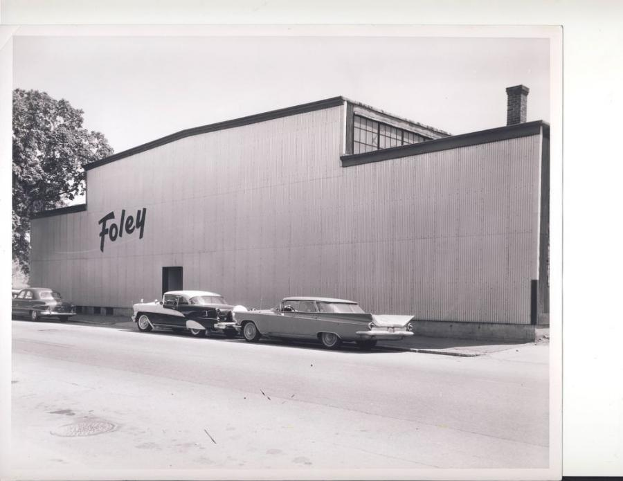 Foley Engines building, in the beginning. The company still operates out of this facility in Worcester.