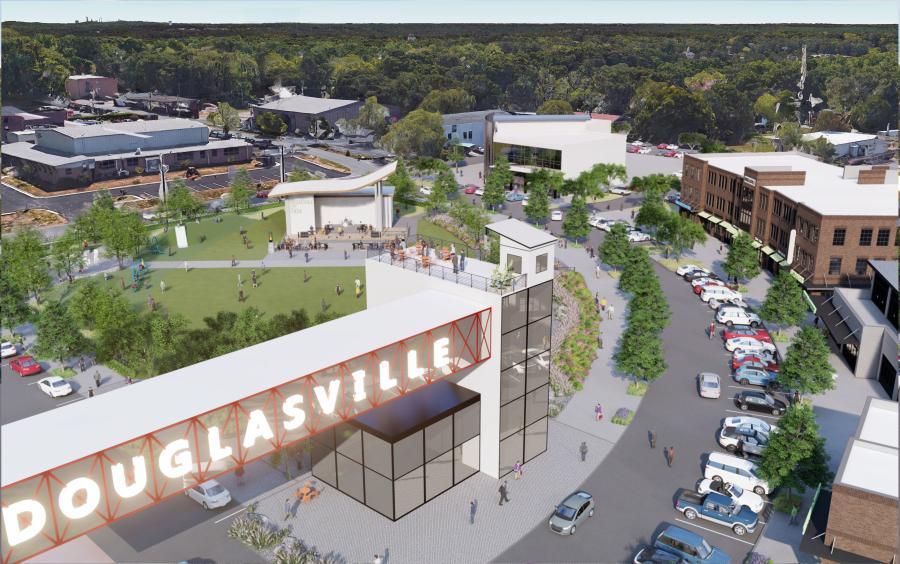 Douglasville Begins Master Plan to Revitalize Downtown