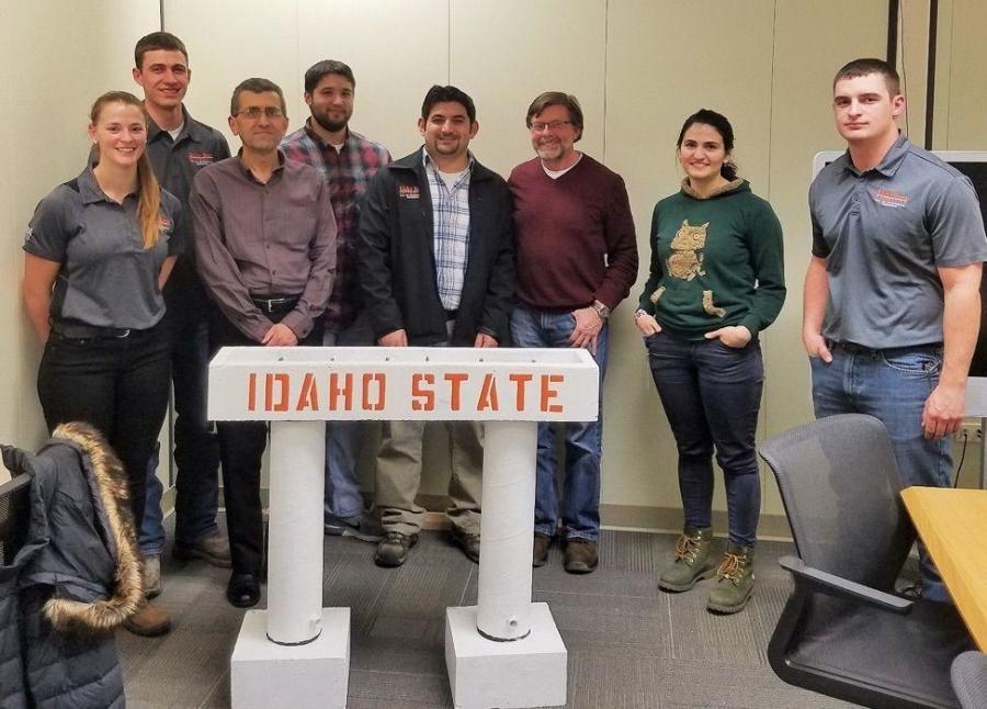 ISU Receives to Test Seismic Resiliency of Precast Concrete