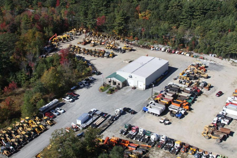 Brookside Equipment Sales consists of three bays in a 2,000-sq.-ft. facility on 17 acres alongside Route 2 in Phillipston, Mass.
