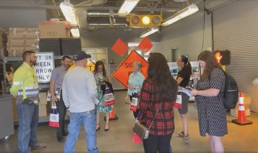 Texas Department of Transportation, El Paso District celebrated its 100th anniversary with an Open House at its district headquarters.