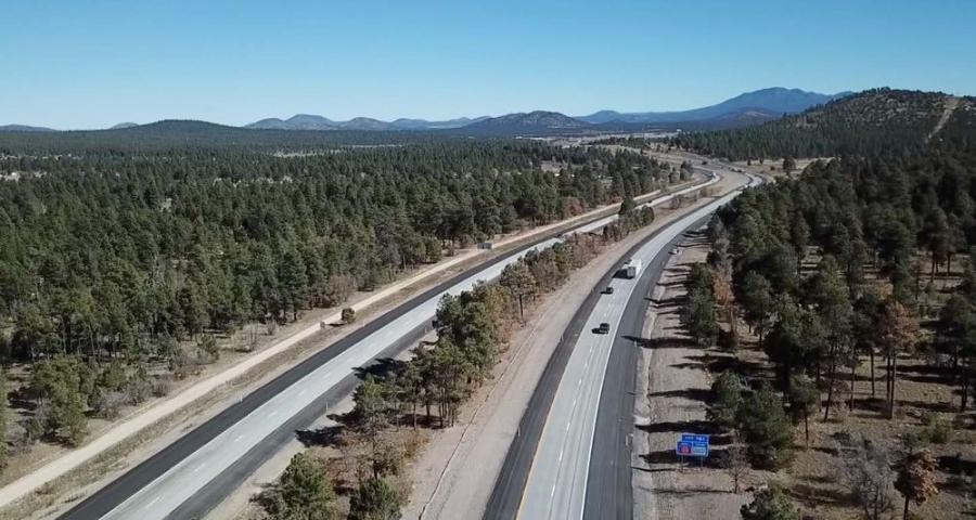 The I-40 Devil Dog award, one of nine given at the Arizona Conference on Roads & Streets in Tucson, was for projects worth more than $25 million.