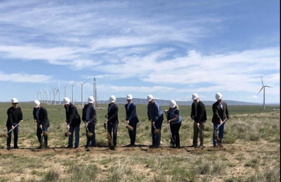 Rocky Mountain Power, local leaders and community members kicked off construction efforts on Energy Vision 2020 during a groundbreaking in Carbon County.