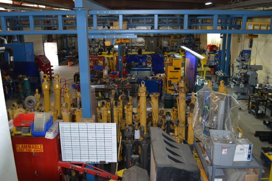 The Fluid Power Division shop is state of the art, and multiple locations are planned across the United States.