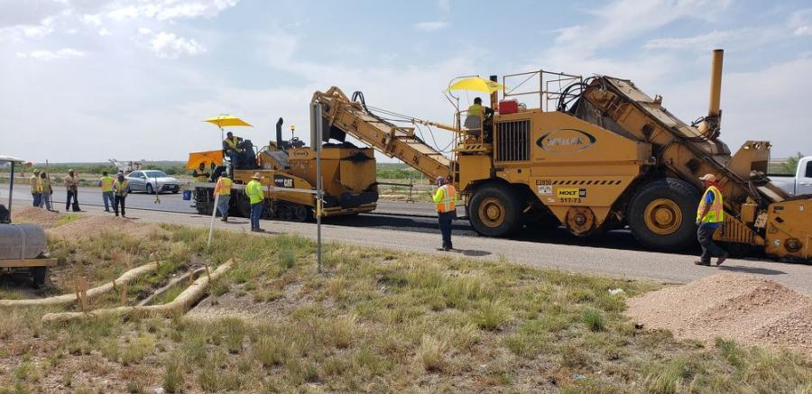 The project consists of removal of the current road — more than 230 million sq. yds. — and reconstruction of its main lanes.