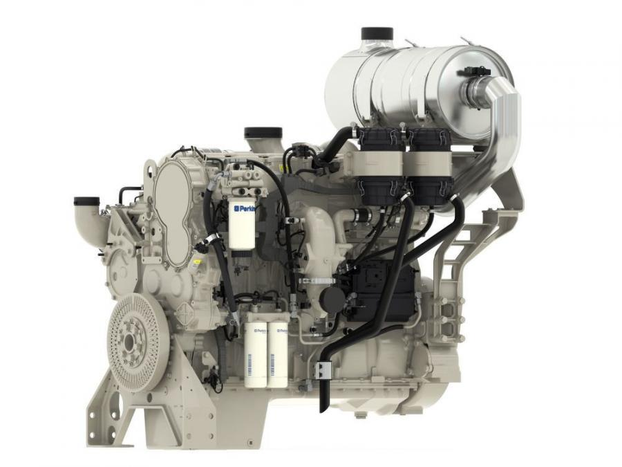 The Perkins 2806J-E18TTA achieves a powerful 800 hp (597 kW) at 1,800 rpm and comes with the option of engine mounted aftertreatment (EMAT) where the engine and aftertreatment can arrive as a single unit ready to be installed.