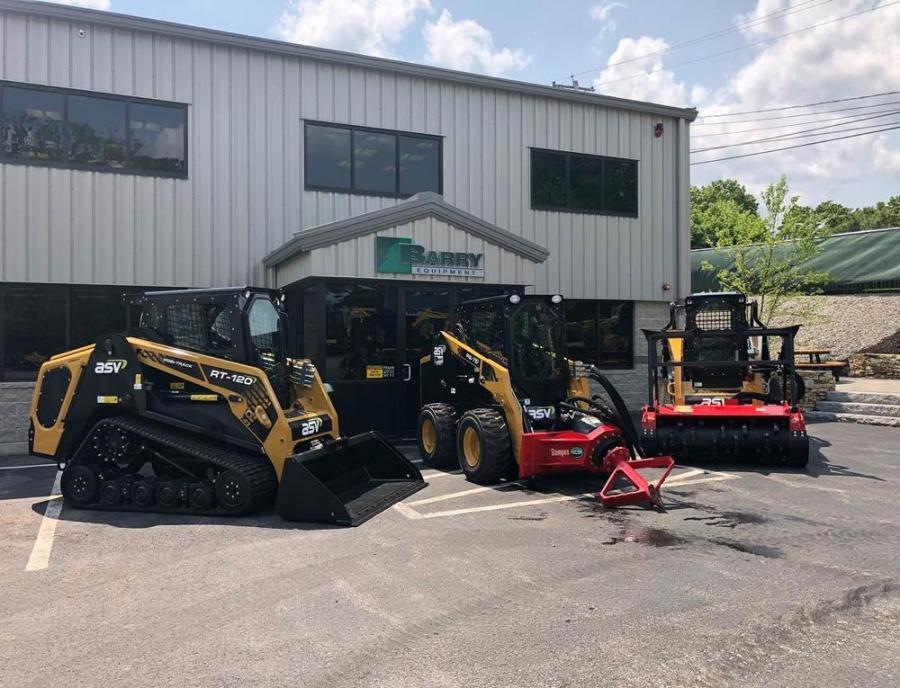 ASV Holdings Inc., a manufacturer of all-purpose and all-season compact track loaders and skid steers, has added Barry Equipment Co. Inc. to its dealer network.