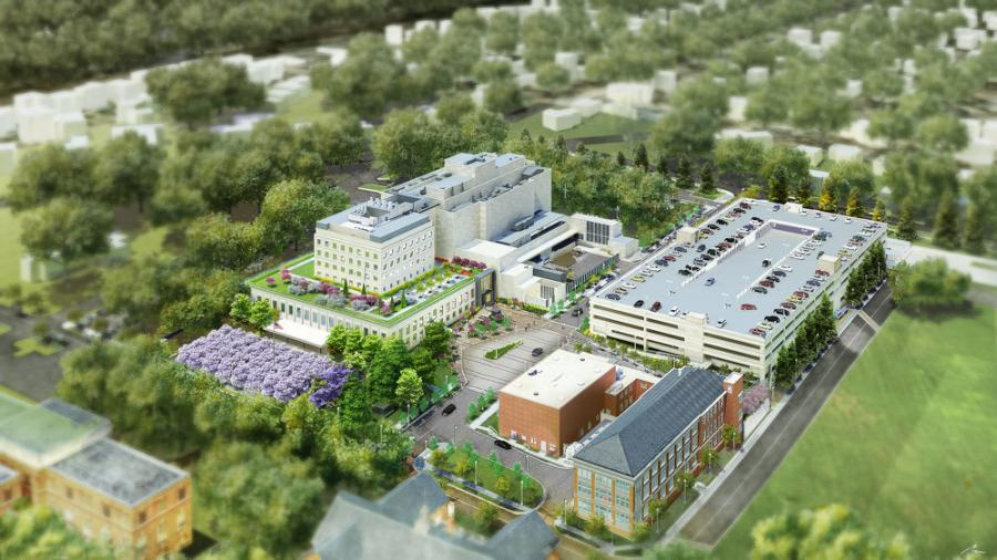 The new Children's National Research and Innovation Campus is located on the campus of the historic Walter Reed Army Medical Center campus in Washington, D.C. (Ward 4).