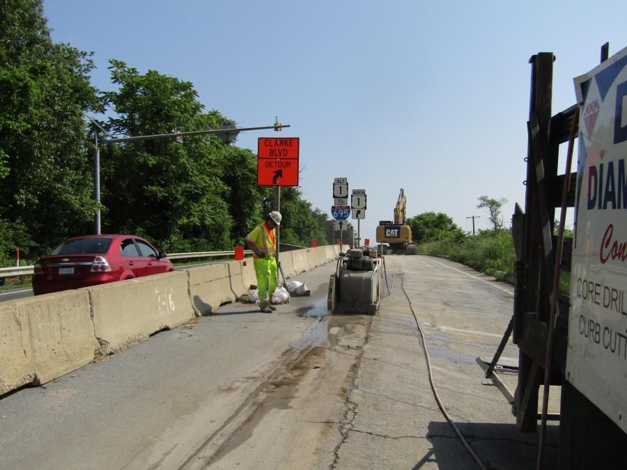 MDOT SHA Replaces Bridge Over CSX Line | Construction Equipment Guide