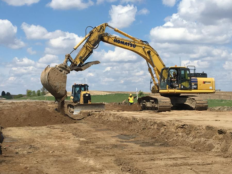 Materials to be removed are expected to include 28,000 sq. yds. of pavement, 91,000 cu. yds. of common excavation, 41,260 cu. yds. of select granular embankment, 53,775 cu. yds. of common embankment and 48,906 tons of Class 5 Q aggregate base.