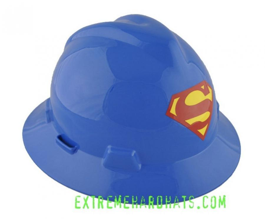 Hard hats can let you make a statement … like what you think of yourself on the job site.
