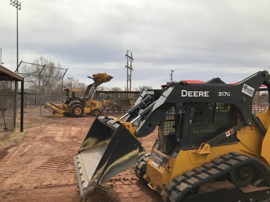 With the help of the local John Deere dealer, 4Rivers Equipment, Albuquerque's South Valley Little League fields received much-needed improvements this spring.