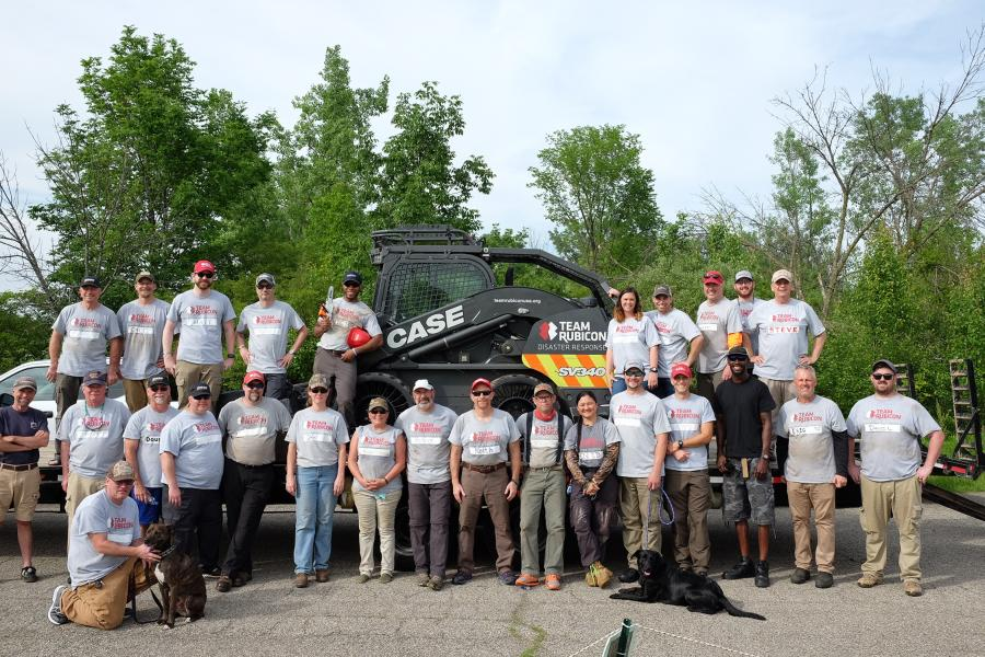 Throughout the operation, Team Rubicon had between 25 and 40 of its volunteers on the ground in Dayton. Those included trained heavy equipment operators, sawyer teams, operational logistics leads and others to help with tree and limb removal, allowing homeowners to repair and rebuild.