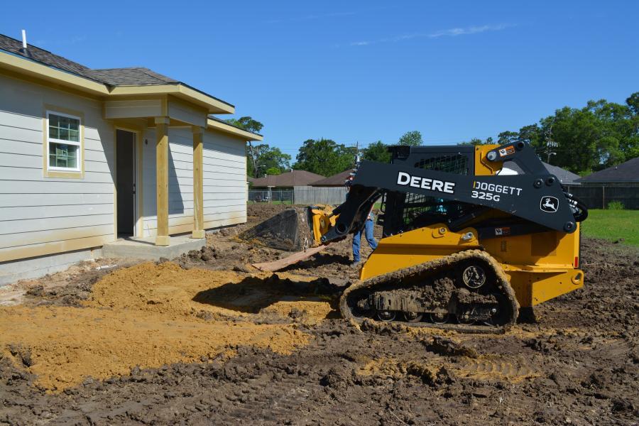 Doggett, John Deere Pair Up for Habitat for Humanity | Construction