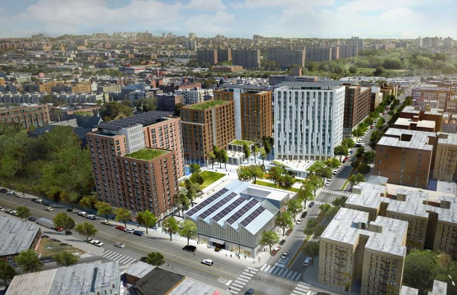The 50,000-sq.-ft. Bronx-based project is part of The Peninsula, and will support various small and medium-sized industrial businesses and the creation of 75 jobs.