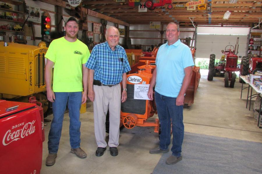 Three generations of the Owensby family met with guests of the recent State Line Machine open house in Middletown, Del. (L-R): Ryan J. Owensby, Fulton S. Owensby Sr. and Fulton Owensby Jr.