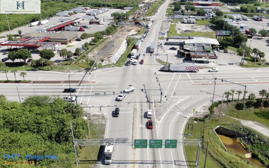 Built in the 1970s, 3.417 mi. of Kings Highway from south of State Road 70 to north of the I-95 overpass are being rebuilt by the Florida Department of Transportation (FDOT) in Fort Pierce.