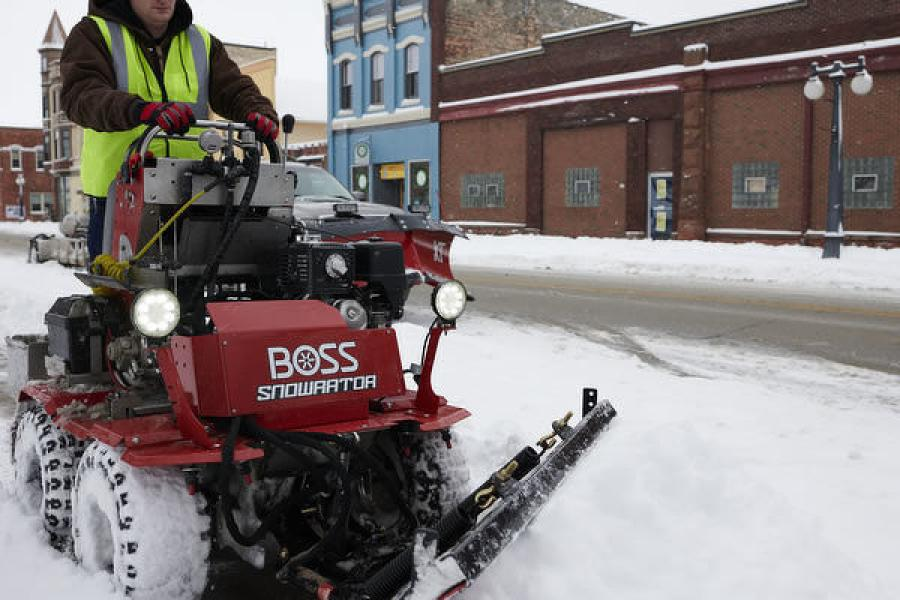 Boss Snowplow Redesigns Snowrator | Construction Equipment Guide
