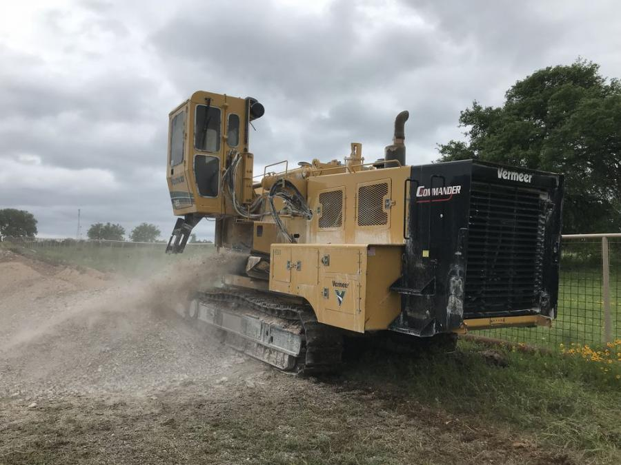 Vermeer D40x55DR Solves Big Problem | Construction Equipment