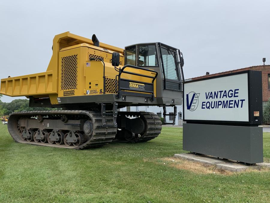 Vantage Equipment will represent the Terramac product line in New York.
