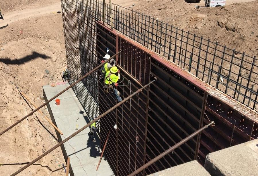 The Arizona Department of Transportation's $50 million project is designed to improve traffic flow and safety by rebuilding the I-17 older interchanges at both Pinnacle Peak and Happy Valley roads. (Arizona Department of Transportation photo)
