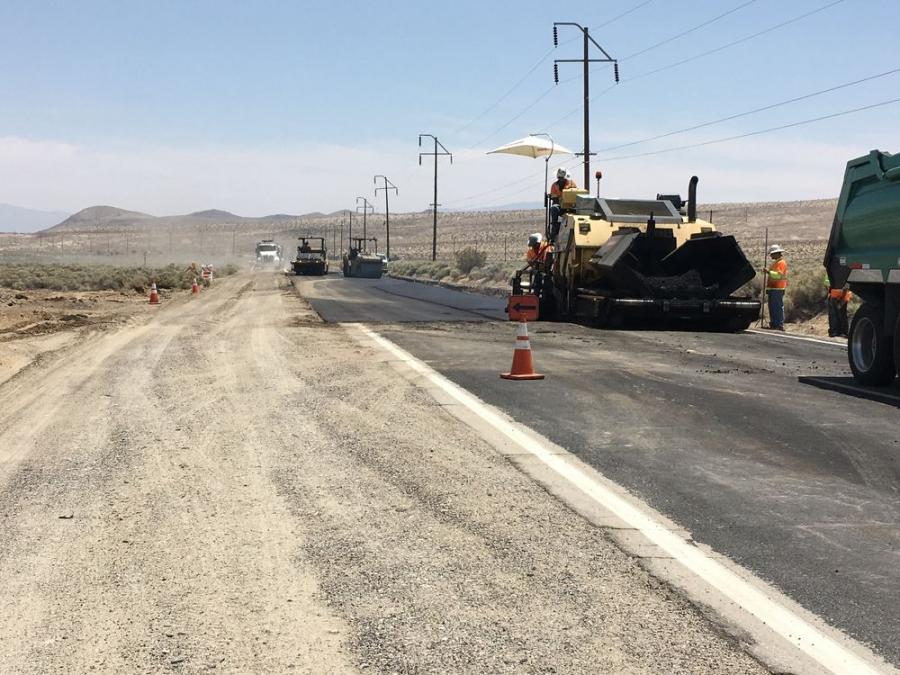 The earthquake was the second to strike the area near Ridgecrest, a town in the Mojave Desert about 120 mi. north of San Bernardino. An earthquake registering 6.4 occurred in the same area less than two days earlier on July 4.