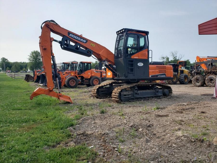 Kleis Equipment offers a range of Doosan equipment, including crawler excavators, wheel excavators, log loaders, material handlers, articulated dump trucks and wheel loaders.