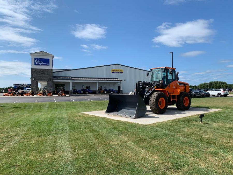Ellens Equipment operates at 5297 West Stoney Corners Road in McBain, Mich.