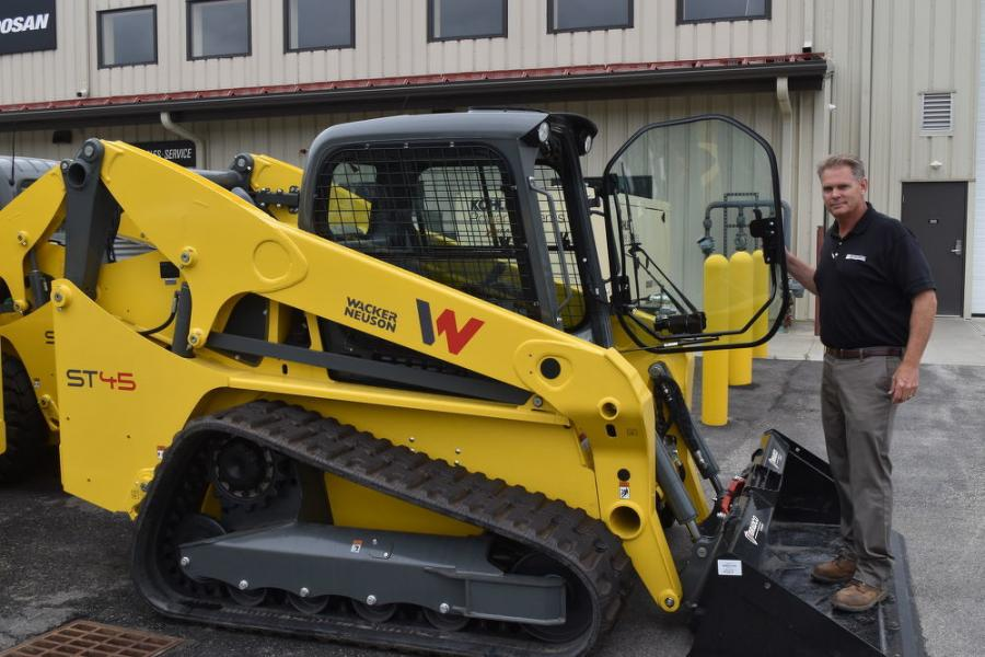 Tracked loaders are now available at Equipment East.