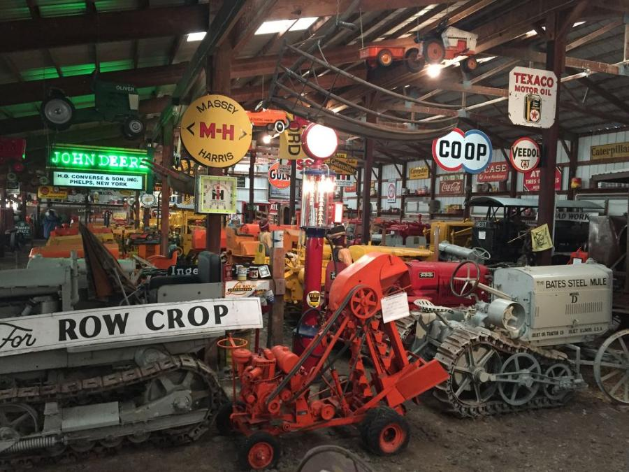 Aumann Auctions, based in Nokomis, Ill., will be conducting an online-only auction from Aug. 20-22, 2019, to liquidate an extensive selection of antique equipment, vintage construction signs, implements and memorabilia housed in the Vintage Tracks Museum Collection, based in Bloomfield, N.Y.