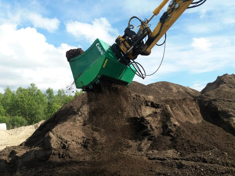 Ransome Attachments has signed a deal to distribute the multi-functional Cobra bucket in the United States.
