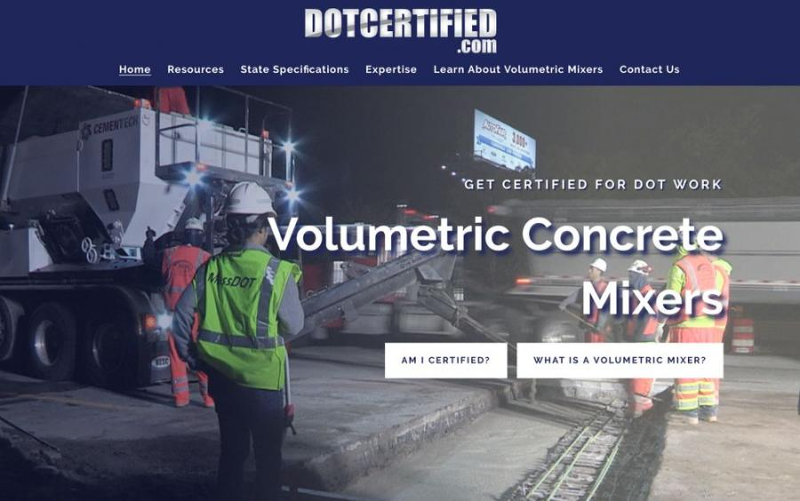 Since each state differs on allowances and requirements for DOT repair work with volumetric mixers, DOTCERTIFIED.COM provides comprehensive DOT specs for each state in an easy-to-use format, as well as additional resources that help business owners meet those state requirements.