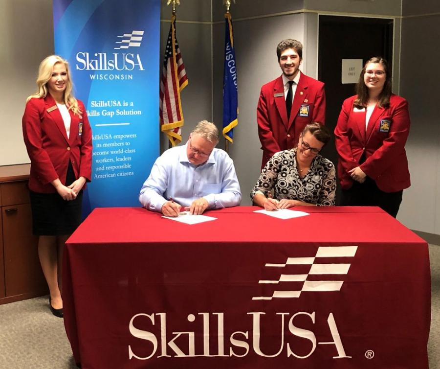 The Association of Equipment Manufacturers has teamed up with SkillsUSA, a partnership of students, teachers and industry representatives, to help provide America with a skilled and developed workforce.