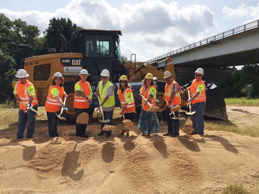 The Texas Department of Transportation was joined by officials from Bastrop County and the city of Bastrop to kick off construction of the SH 71 at the Colorado River project.